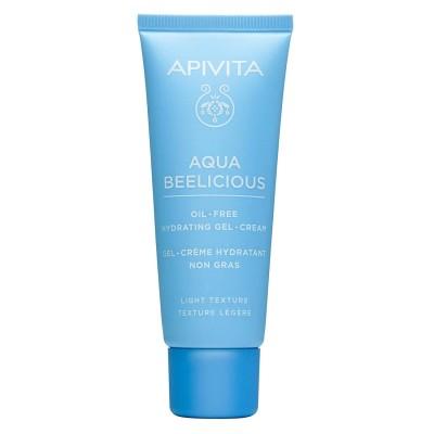 APIVITA Aqua Beelicious hidratantna gel krema lagane teksture - oil free 40ml