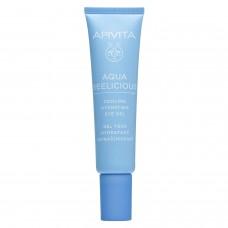 APIVITA Aqua Beelicious hidratantni gel za područje oko očiju s efektom hlađenja 15ml