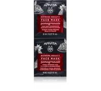 APIVITA Express Beauty maska za lice nar 2x8ml
