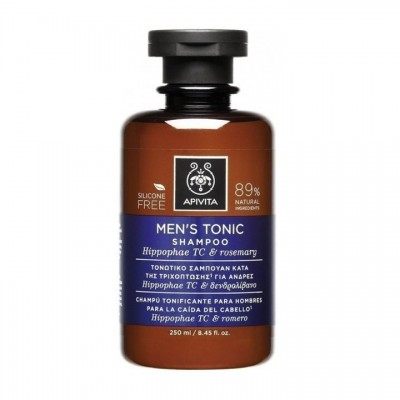 APIVITA Muški tonik šampon 250ml