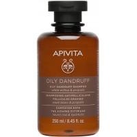 APIVITA Šampon protiv masne peruti s bijelom vrbom i propolisom 250ml