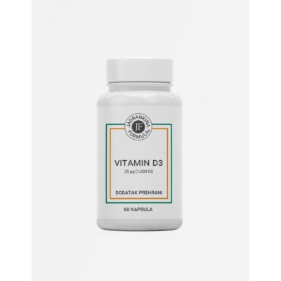 Jadrankina formula Vitamin D3 1000IU cps. A60