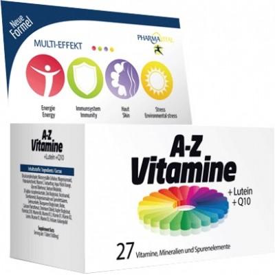 A-Z Vitamine + Lutein + Q10 tbl a60