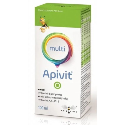 Apivit® Multi vitaminski sirup 100ml