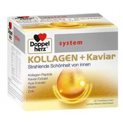 Doppelherz KOLLAGEN + Kaviar bočice a30
