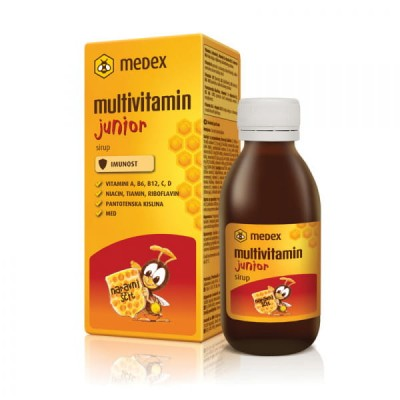Medex Multivitamin junior sirup 150ml
