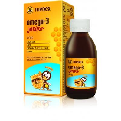 Medex Omega-3 junior sirup 140ml