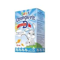 Salvit Omega-Vit D kapi 15ml
