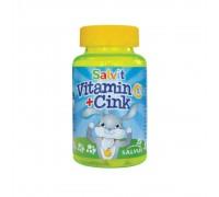 Salvit Vitamin C + cink žele bombone a60