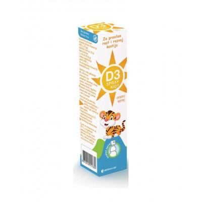 Vitamin D3 Kid oralni sprej 200IU
