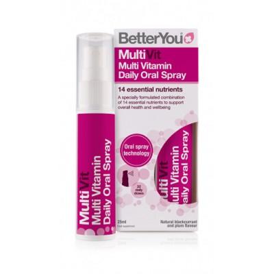 BetterYou MultiVit vitamini u spreju 25ml