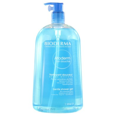 Bioderma Atoderm Blagi umirujući gel za pranje i tuširanje 1L