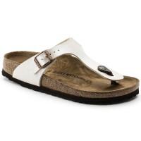 BIRKENSTOCK Gizeh sandale Graceful Pearl White