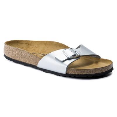BIRKENSTOCK Madrid papuče Silver