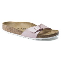BIRKENSTOCK Madrid papuče Icy Metallic Old Rose