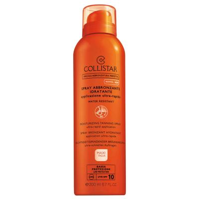 COLLISTAR Sun Moisturizing tanning sprej SPF10 200ml