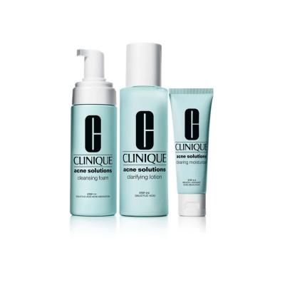CLINIQUE Anti blemish solutions 3 step sistem set