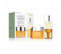 Clinique Set Vitamin C booster 8.5ml + Super Deffense SPF25 krema 15ml (suha koža)