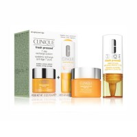 CLINIQUE Set Vitamin C booster 8.5ml + Super Deffense SPF25 krema 15ml (suha koža)