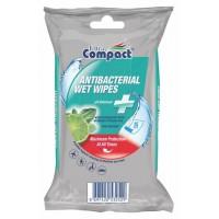 Antibakterijske vlažne maramice Compact Wipes A15