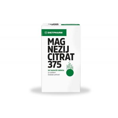 Magnezij citrat 375 šumeće tablete
