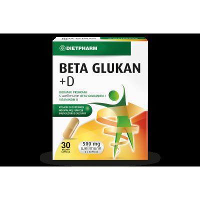 Beta Glukan + D kapsule