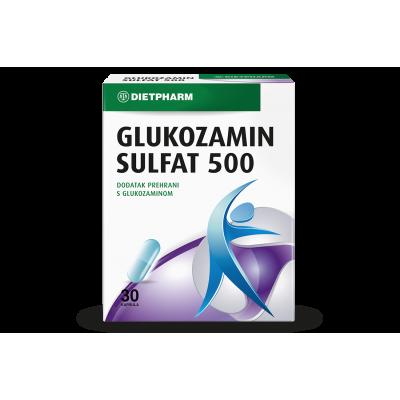 Glukozamin sulfat 500 kapsule