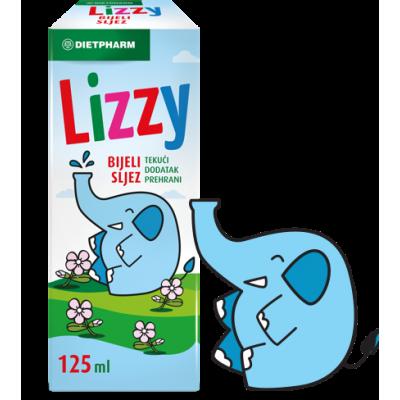 Lizzy Sirup bijeli sljez 125ml
