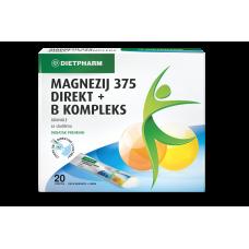 Magnezij 375 Direkt + B kompleks granule