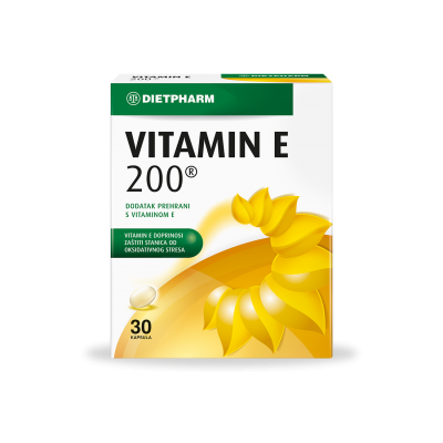 Vitamin E - 200 kapsule a30