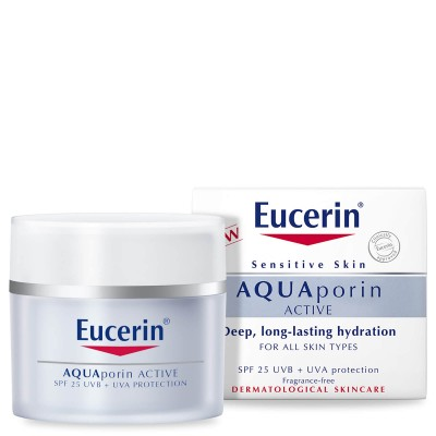 Eucerin AQUAporin ACTIVE krema SPF25 UV 50ml
