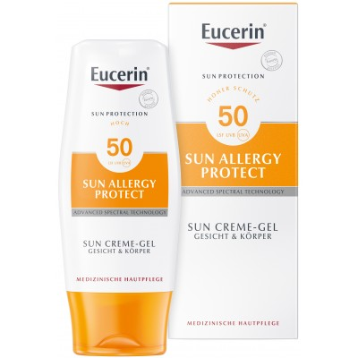 Eucerin SUN Allergy protect Krema-gel SPF50 150ml