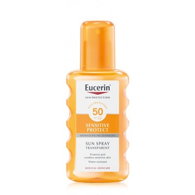 Eucerin SUN Sensitive Protect Transparent sprej SPF50 200ml