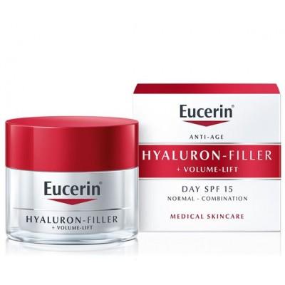 Eucerin Hyaluron-Filler Volume-lift dnevna krema za normalnu do mješovitu kožu 50ml