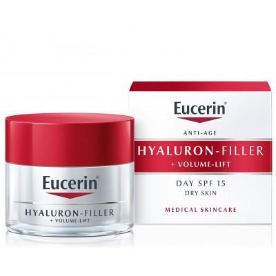 Eucerin Hyaluron-Filler Volume-lift dnevna krema za suhu kožu 50ml