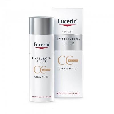 Eucerin Hyaluron-Filler CC krema srednje tamna nijansa