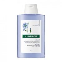 Klorane Šampon s vlaknima lana za tanku kosu 200ml