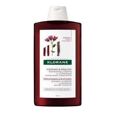 Klorane Šampon za jačanje korjena kose s kininom 400ml