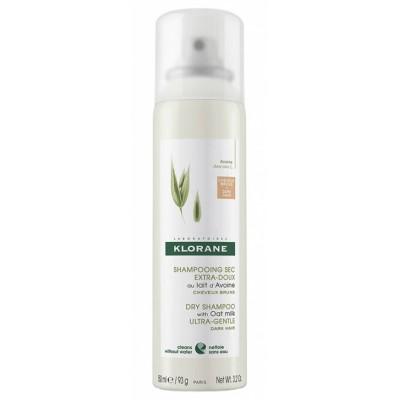 Klorane Suhi šampon s zobenim mlijekom za tamnu kosu 150ml