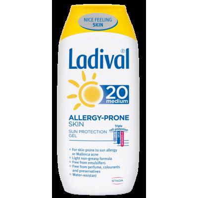 Ladival Gel za kožu sklonu alergiji SPF20 200ml