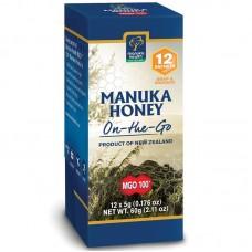 Manuka med MGO 100+ On-to-Go 12x5g