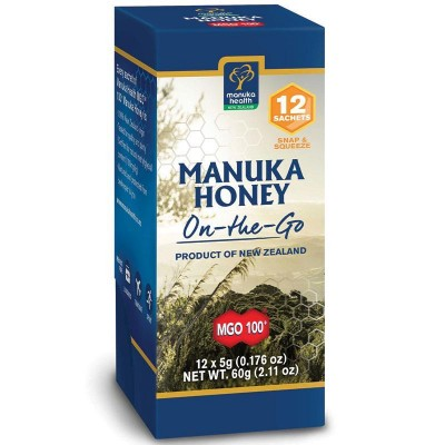 Manuka med MGO 100+ On-to-Go 12x5g