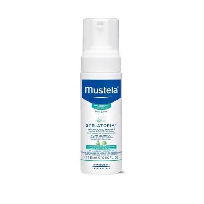Mustela Stelatopia® Pjenušavi šampon 150ml