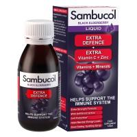 Sambucol Extra Defence sirup 120 ml