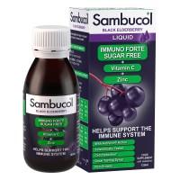 Sambucol Immuno forte sugar free sirup 120 ml