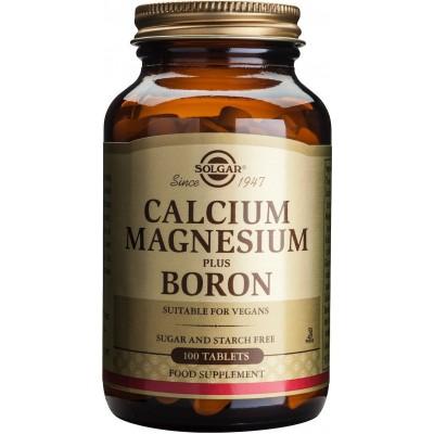 SOLGAR Kalcij, magnezij plus bor tbl a100