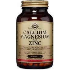 SOLGAR Kalcijum + Magnezijum + Cink tbl. A100