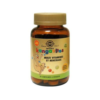 SOLGAR Kangavites tablete za žvakanje A60