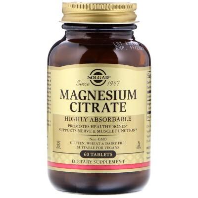 SOLGAR Magnezij citrat tbl. A60