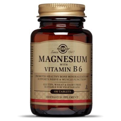 SOLGAR Magnezij s vitaminom B6 tbl a100